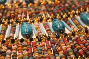 Faience beads, Egypt