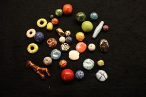 Kazuuri clay beads, Kenya