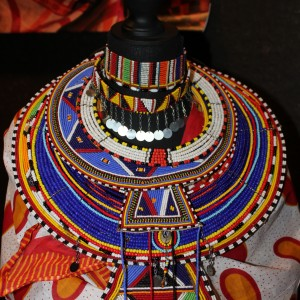 Masaii colors from Kenya The masaii tribes of Tanzania in the south often use only white beads