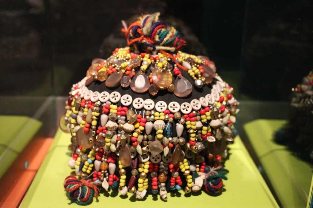 Maturity cap used by the Kalasha people of Northern Pakistan for the ceremony of their 5 years old children