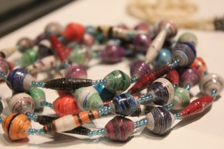 Paper beads East Africa
