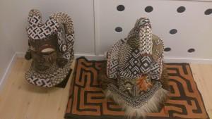 Impressive mask from the Krobo tribe of Congo